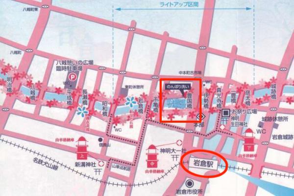 のんぼり地図