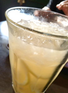 リンゴ梅酒
