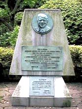 下田公園 記念碑