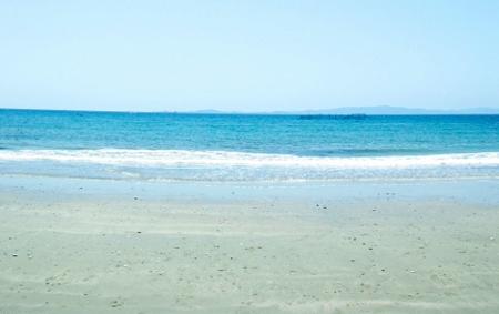 九州 白石海岸