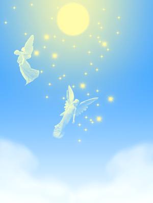 加工後 天使