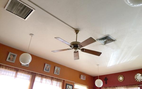 エアコン扇風機