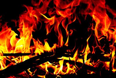 たき火400