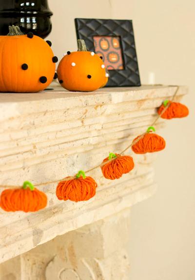 毛糸のかぼちゃ400