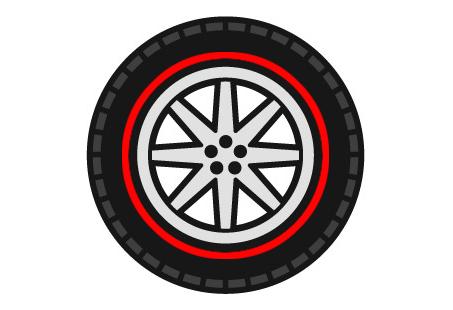 タイヤ450