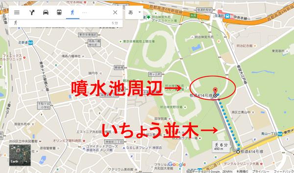 神宮外苑地図2
