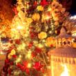 クリスマスのイルミ