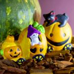 ハロウィン飾りを折り紙で!かぼちゃのおばけとコウモリと魔女