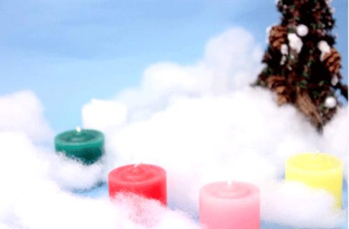 クリスマスツリーの足元の飾り