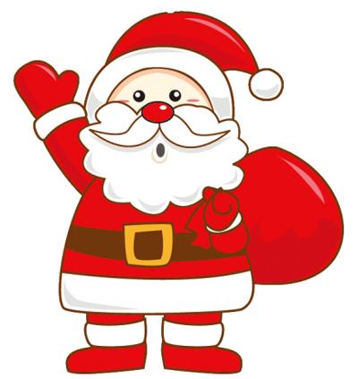 クリスマスに使うかわいい無料イラストフリーダウンロードで便利