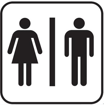 トイレのマーク
