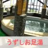 うずしお足湯の画像